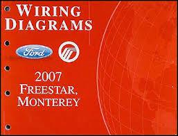 2007 ford star mercury monterey wiring diagram manual original