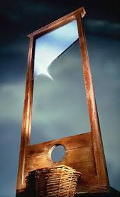 Image result for guillotine pictures of the french revolution
