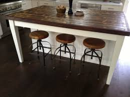 Distressed Wood Kitchen Table Kitchen Reclaimed Wood Kitchen Table With Regard To Staggering