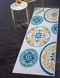cream 2 x 6 outdoor modern runner rug area rugs erugs modern runner rugs modern stair runner rugs