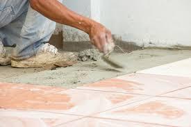 let a little rain fall installing outdoor tiles