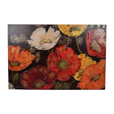 pier 1 imports enchanted flowers art decor