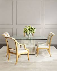 palmetto quartz dining table elizabeth dining chairs
