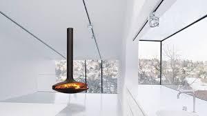 hanging fireplace wood burning photo