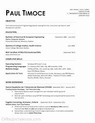 Mechanical Engineering Resume Templates 100 Inspirational Image Of Resume format Diploma Mechanical 55