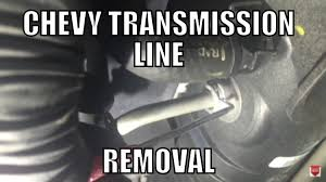 08 Chevy Silverado Transmission Cooler Line Removal Should work on ...