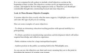 Resume Objective Tips Ultimate Need Good Resume Objective On Simple Objectives Cv Cover 59