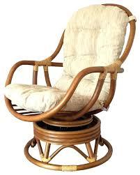 rattan swivel rocking chair info inside designs 10