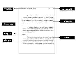 Formato Apa Numeracion De Paginas Cover Letter Sample For Job