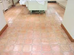 picture of cleaned resealed saltillo tiles