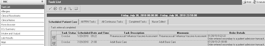 Completing The Pneumococcal/ Influenza Vaccine Assessment Form