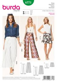 Burda Patterns Mesmerizing Burda 48 Burda Style Pants Jumpsuits