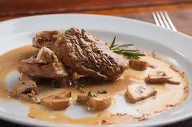 pork tenderloin medallions with dijon