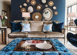 Light Blue And Brown Decor Brown And Blue Living Room Decorating Ideas Home Interior