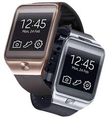 samsung watch gear. samsung has announced the gear 2 and neo smartwatches. both are compatible with smasung\u0027s android smartphones, but neither watch actually runs