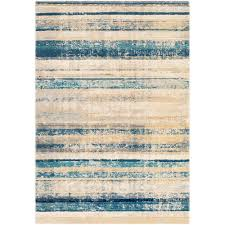 Striped area rug Abstract Striped Area Rug The Home Depot Artistic Weavers Eden Tealyellow Ft Ft Striped Area Rug