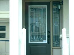door glass inserts exterior stylish entry replacement home depot and frames en