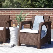 mercury row berard all weather outdoor patio chair with cushion outdoor patio rugs outdoor patio rugs