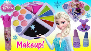 anna elsa makeup blush lip gloss nails jewelry kins you