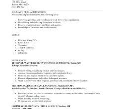 Billing Clerk Resume Sample. Inspiration Medical Billing Clerk ...