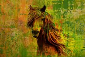 horse painting horse paintings 001 by catf