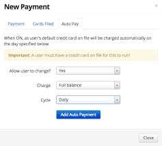 Look at your credit card statement. Cards On File Auto Pay Flight Circle