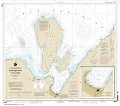 Lake Superior Depth Chart 14969 Munising Harbor And Approaches Nautical Chart