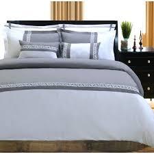 navy greek key comforter superior embroidered microfiber 7 piece duvet cover set