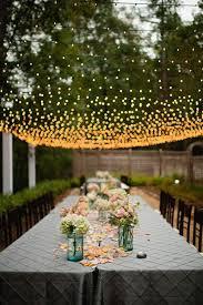 garden wedding decor with lights Deer Pearl Flowers