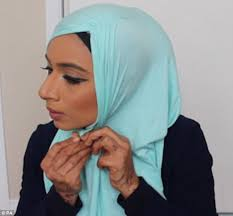 the hijab has recently been launched into the designer fashion spotlight after dolce and gabbana launched