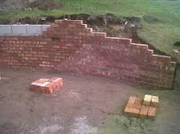 retaining brick wall cheshire goostrey cheshire brick wall cheshire