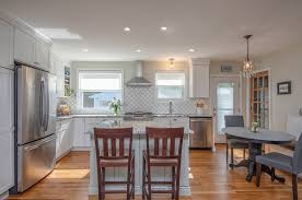 chic and elegant cottage kitchen thomas custom builders