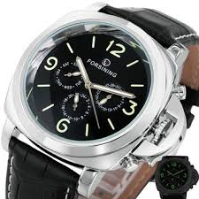 best watch men in black 3 products on wanelo hot classic men s watch 2017 multi function automatic mechanical wristwatches brand luxury 3 sub