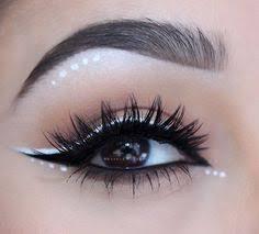 10 hot white eyeliner ideas eyelinerstyles rave makeup prom makeup wedding makeup