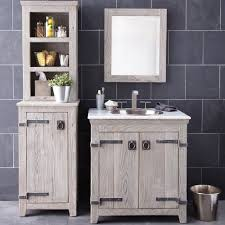 Driftwood Bathroom Accessories 30 Inch Americana Vanity Suite In Driftwood Native Trails