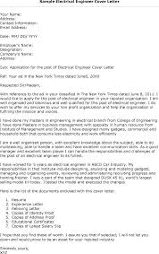 Engineer Cover Letter Examples How To Write A Cover Letter For A