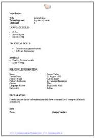 Name Mobile Email Career Object Resume Pinterest Sample Res
