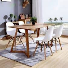 white modern dining chairs. Image Is Loading Set-of-4-Eames-Style-white-Modern-Dining- White Modern Dining Chairs S