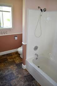 trim around bathtub surround