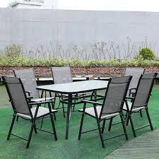 120cm metal garden patio furniture