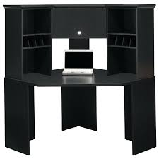 computer desk with hutch bush my space corner computer desk with optional hutch and file