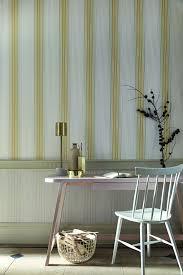 Behang Ombre Stripe Plain Lichen Doric Van Little Greene Www