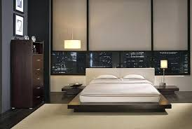japanese style bedroom furniture. Japanese Modern Bedroom Brown Wooden Style Furniture E