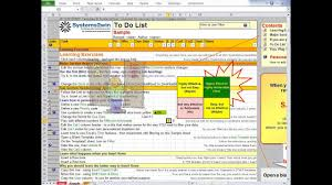 Todo List In Excel To Do List Excel Template