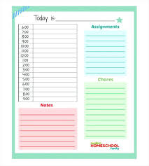 Daily Weekly Ms Word Planner Templates Office Online Kids Calendar ...