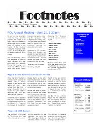 FOL Annual Meeting—April 29, 6:30 pm