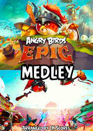 Angry Birds Epic Medley Sheet music for Piano (Solo)   Download and print  in PDF or MIDI free sheet music for Angry Birds Epic by Henri Sorvali (not  allowed to put random