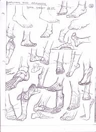 How To Draw Manga Feet Easily Online Drawing Lessons