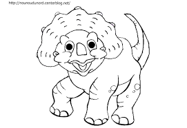 Coloriage Dinosaure Long Cou L L