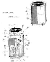 heat pump diagram of parts heat image wiring diagram nordyne heat pump parts model mt3bc024k sears partsdirect on heat pump diagram of parts
